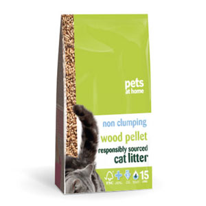 Pets at Home Wood Pelet cat litter reviews