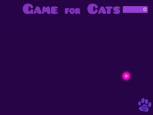 iPad game for cats